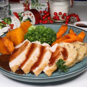 Christmas Turkey with Vegetables