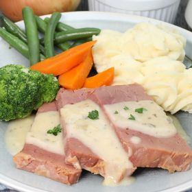 Silverside with Vegies