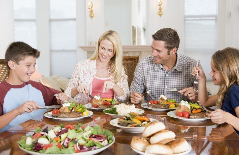 Eating with the Family Increases Physical, Social and Mental Wellbeing