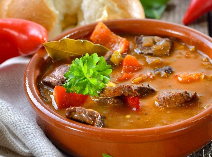 Hungarian Beef Goulash - A Favourite Home Delivered Meal for The Elderly Community